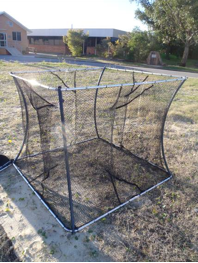 Figure 1 A cloverleaf trap such as those used during field trials (Photo courtesy of Dean Gilligan)