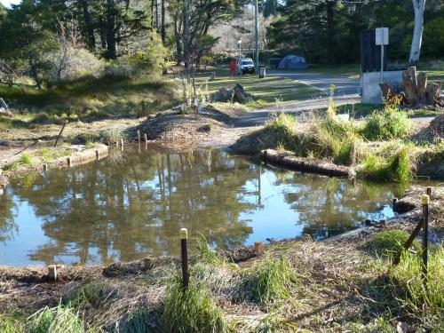 Figure 2: Sedimentation pond