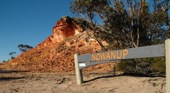 Fig 2. Nowanup rock features