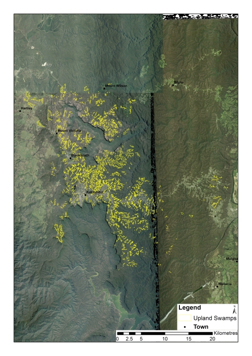 Figure 3: THPSS of the Blue Mountains region