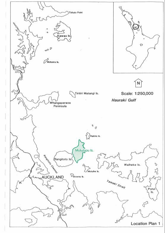 The ecological restoration of Te Motu Tapu a Taikehu Hauraki Gulf